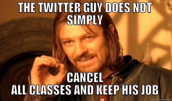Boromir describes the weather