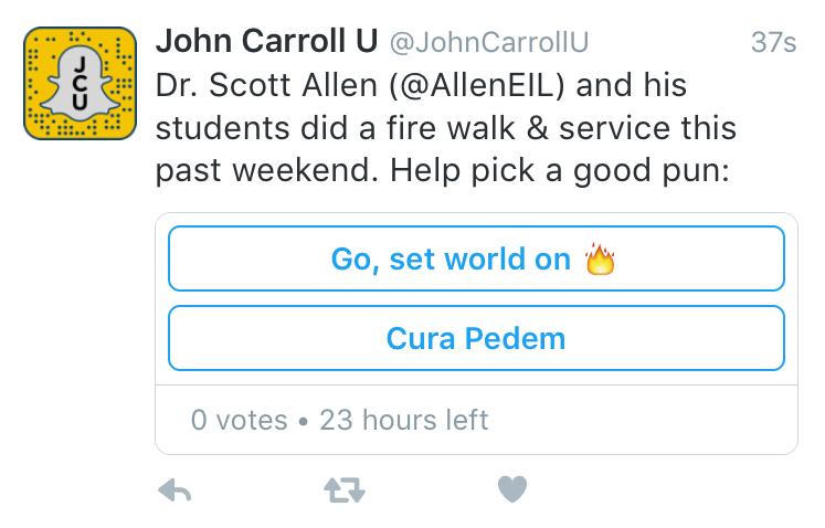 Poll items with emoji